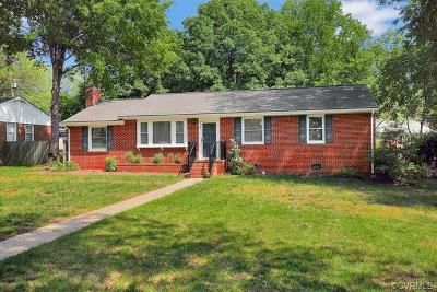 Henrico Single Family Home For Sale: 2107 Cool Brook Drive