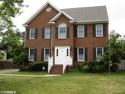 Henrico County Single Family Home For Sale: 11904 Blandfield Street