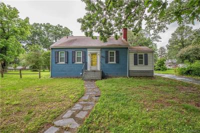 Chesterfield County Single Family Home For Sale: 2416 Sherbourne Road
