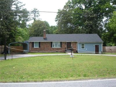 Chesterfield VA Single Family Home For Sale: $178,500