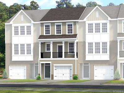 Chesterfield County Condo/Townhouse For Sale: 6117 West Stonepath Garden Drive #Lot 14
