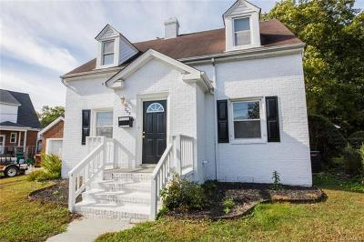 Colonial Heights Single Family Home For Sale: 205 Chesterfield Avenue