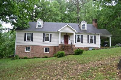 Dinwiddie Single Family Home For Sale: 10813 Boydton Plank Road