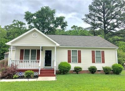Hopewell VA Single Family Home For Sale: $129,900