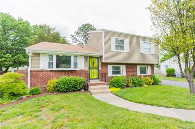 Henrico Single Family Home For Sale: 2712 Tanager Road