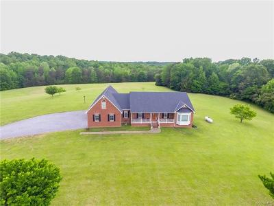 Nottoway County Single Family Home For Sale: 3335 Dutchtown Road
