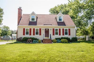 Hanover County Single Family Home For Sale: 8022 Kerrick Trace