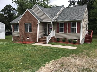 Petersburg Single Family Home For Sale: 4149 Henshaw Drive