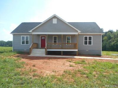 Farmville Single Family Home For Sale: 4888 Abilene Road