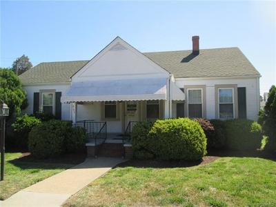 Hopewell VA Single Family Home For Sale: $149,950