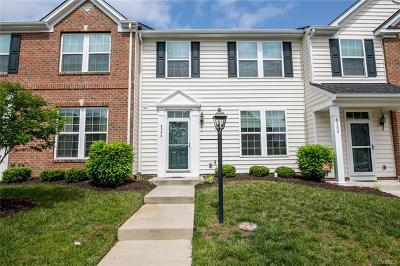 Hanover County Condo/Townhouse For Sale: 8304 Creekside Meadow Way #8304