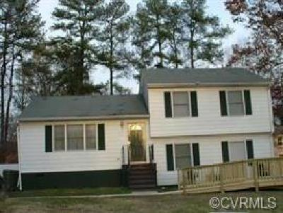 Hopewell VA Single Family Home For Sale: $138,000