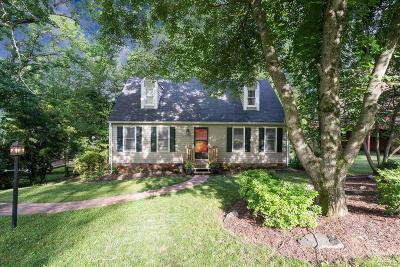 Richmond Single Family Home For Sale: 1713 Treewood Lane