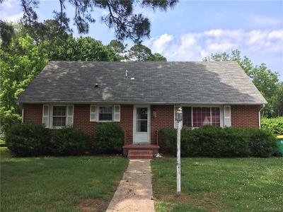 Hopewell Single Family Home For Sale: 3023 Grace Street