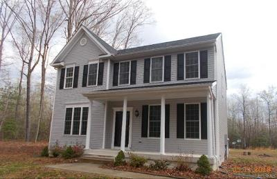 Ruther Glen VA Single Family Home For Sale: $237,500