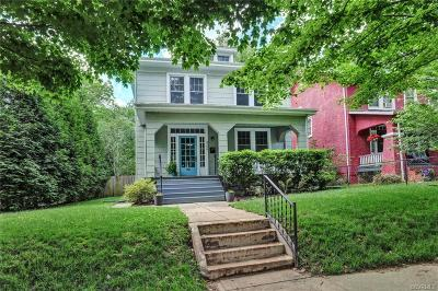 Richmond Single Family Home For Sale: 3126 Edgewood Avenue