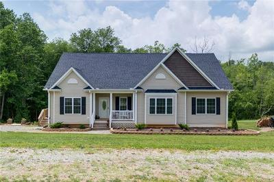 Amelia County Single Family Home For Sale: 5200 Soap Stone Road
