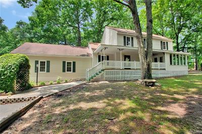 Powhatan VA Single Family Home For Sale: $299,000