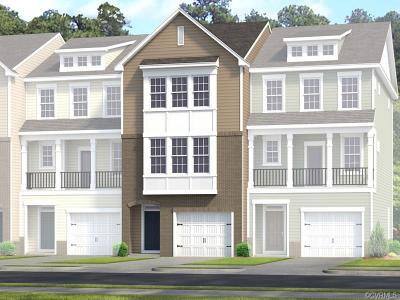 Chesterfield County Condo/Townhouse For Sale: 6133 West Stonepath Garden Drive #Lot 10