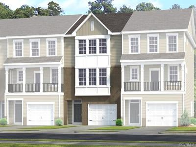 Chesterfield County Condo/Townhouse For Sale: 6137 West Stonepath Garden Drive #Lot 9