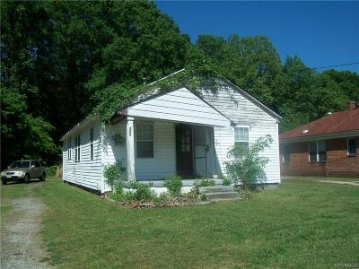 South Chesterfield Single Family Home For Sale: 3200 Dupuy Road