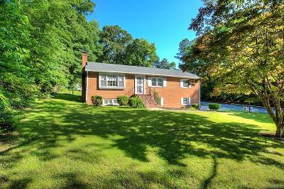 Chesterfield County Single Family Home For Sale: 8500 Luton Road