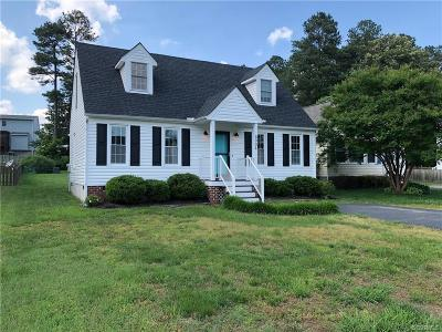 Mechanicsville Single Family Home For Sale: 6004 Dugout Terrace