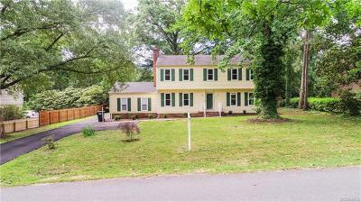 Richmond Single Family Home For Sale: 4125 Vauxhall Road
