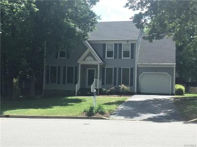 Glen Allen Single Family Home For Sale: 9745 Fireside Drive