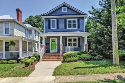 Richmond Single Family Home For Sale: 609 West 26th Street