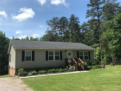 Amelia County Single Family Home For Sale: 24851 St James Road