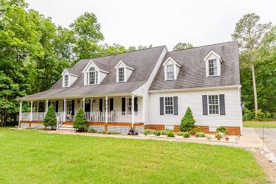 Aylett Single Family Home For Sale: 12874 West River Road