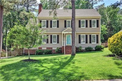 Henrico Single Family Home For Sale: 9517 Pine Shadow Drive