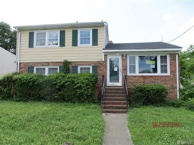 Colonial Heights VA Single Family Home For Sale: $119,900