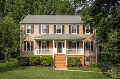 Chesterfield County Single Family Home For Sale: 648 Glenpark Lane