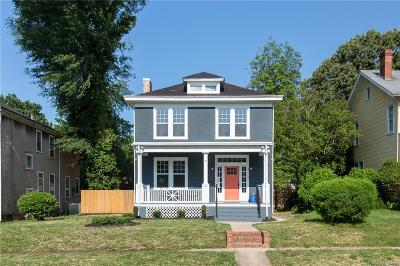 Richmond Single Family Home For Sale: 3114 Edgewood Avenue