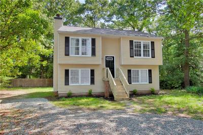 Chesterfield County Single Family Home For Sale: 9800 Nott Lane