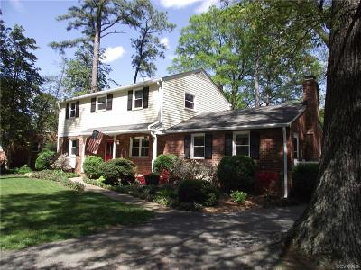 Chesterfield County Single Family Home For Sale: 2325 Woodmont Drive