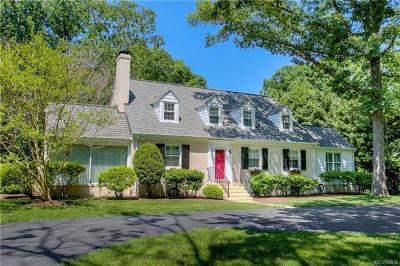 Richmond Single Family Home For Sale: 3800 Cheverly Road