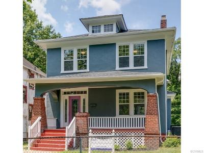 Richmond Single Family Home For Sale: 3202 Hanes Avenue