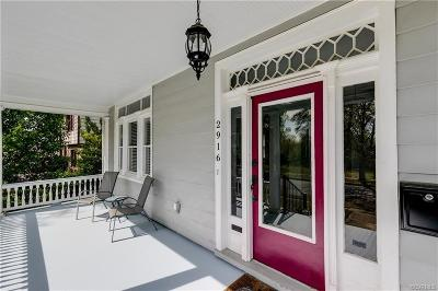 Richmond Single Family Home For Sale: 2916 Griffin Avenue