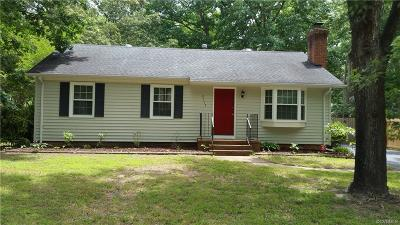 Chesterfield County Single Family Home For Sale: 9513 Snowbird Road