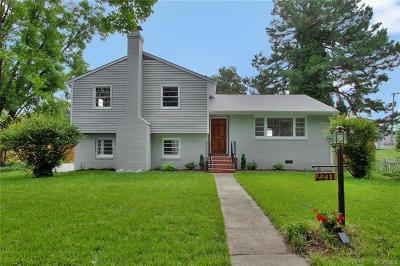 Richmond Single Family Home For Sale: 2211 Seminary Avenue