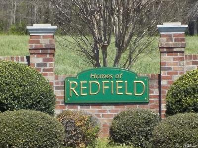 Amelia County Single Family Home For Sale: 10301 Redfield Drive