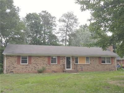 Midlothian Single Family Home For Sale: 3351 Clintwood Road