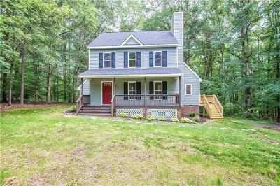 Powhatan Single Family Home For Sale: 3466 Woods Way
