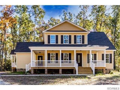 Dinwiddie Single Family Home For Sale: Tbd Old Town Road