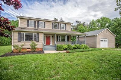 Farmville Single Family Home For Sale: 102 Carson Mills Drive