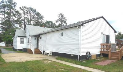 Dinwiddie County Single Family Home For Sale: 4008 Lee Boulevard