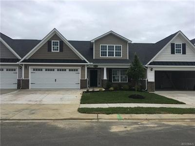 Hanover County Condo/Townhouse For Sale: 8234 Bald Cypress Drive #A3